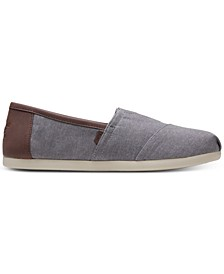 Men's Alpargata Chambray Slip-Ons