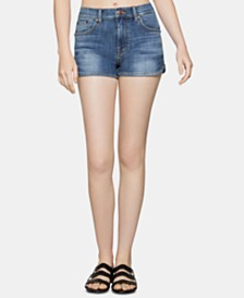BCBGeneration Dolphin-Hem Denim Shorts