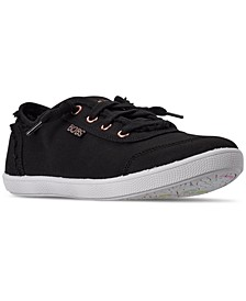 Women's BOBS-B Cute Lace Casual Sneakers from Finish Line