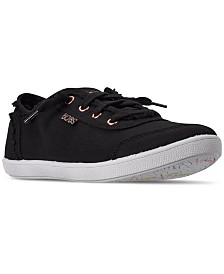 Skechers Women's BOBS-B Cute Lace Casual Sneakers from Finish Line