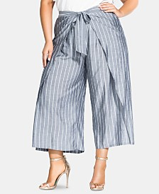 City Chic Trendy Plus Size Simply Swish Pants