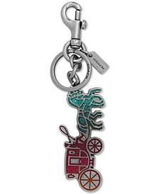 Glitter Horse and Carriage Bag Charm