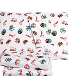 Camper 3 Piece Twin Sheet Set