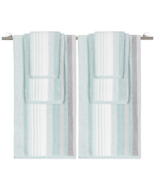 Caro Home Addison 6-Pc. Towel Set