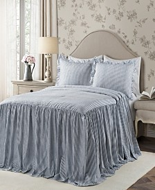 Ticking Stripe 2Pc Twin Bedspread Set