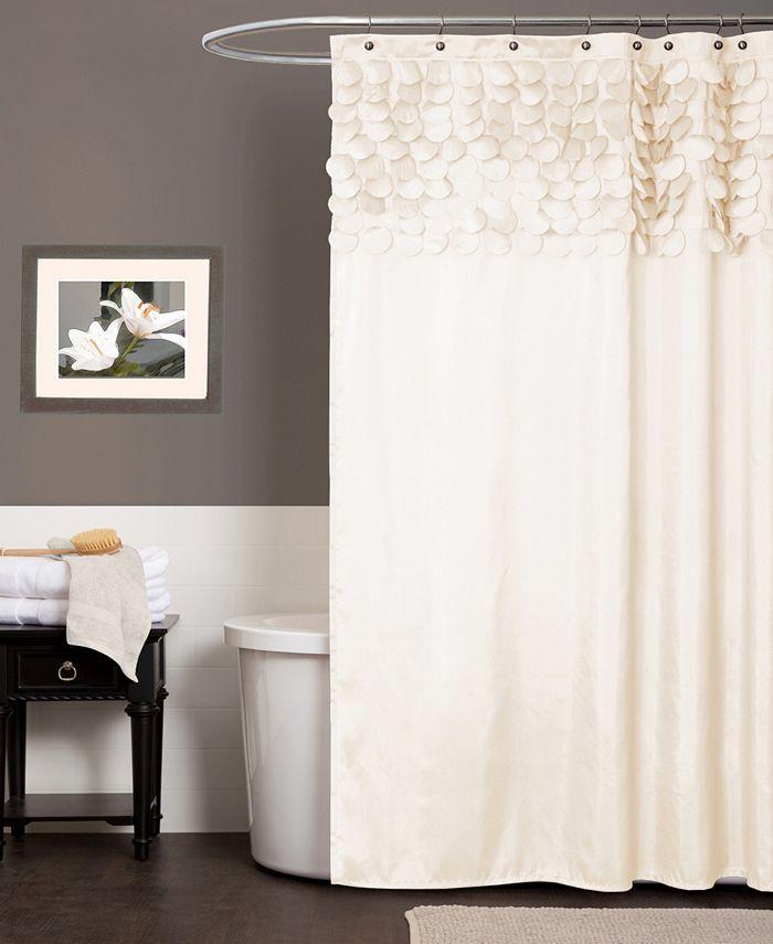 """Lush Décor - Lillian 72"""" x 72"""" Shower Curtain"""