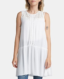 Silver Jeans Co. Sina Lace Babydoll Tunic