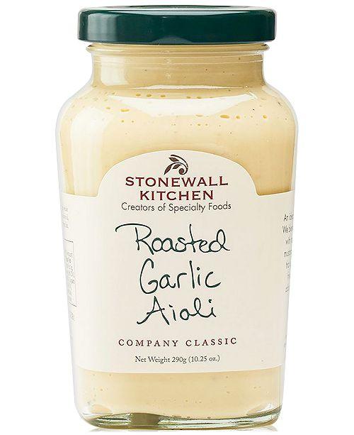 Stonewall Kitchen Roasted Garlic Aioli