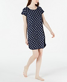 Cotton Printed Nightgown, Created for Macy's
