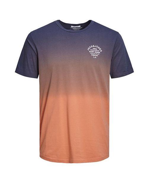 Jack & Jones Jack and Jones Men's Gradient Style Long Fit T-shirt