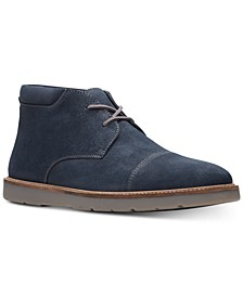 Men's Grandin Top Navy Suede Casual Boots