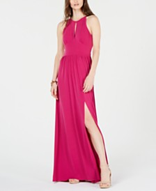 MICHAEL Michael Kors Keyhole Maxi Dress, in Regular and Petite