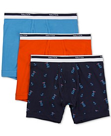 Men's 3-Pk. Stretch Boxer Briefs