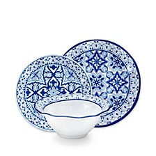 Talavera Melamine in Azul 12pc Set