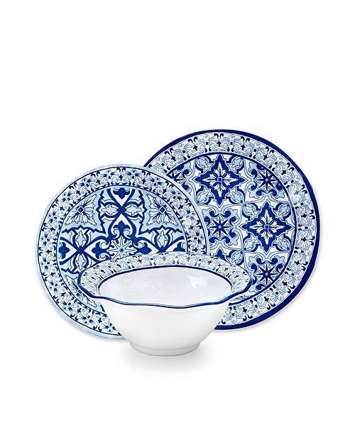 Q Squared Talavera in Azul 12pc Set