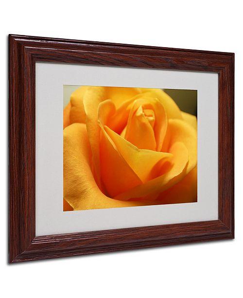 """Trademark Global Monica Fleet 'Mother's Embrace' Matted Framed Art - 14"""" x 11"""""""