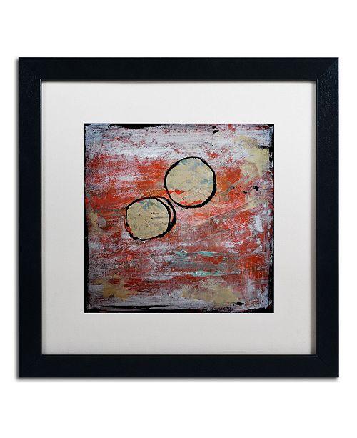 "Trademark Global Nicole Dietz 'The Host' Matted Framed Art - 16"" x 16"""