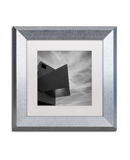 "Trademark Global Kurt Shaffer 'Rock and Roll Hall of Fame Abstract' Matted Framed Art - 11"" x 11"""