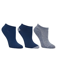 Cuddl Duds Women's 3pk Mid-Weight Low Cut Socks, Online Only