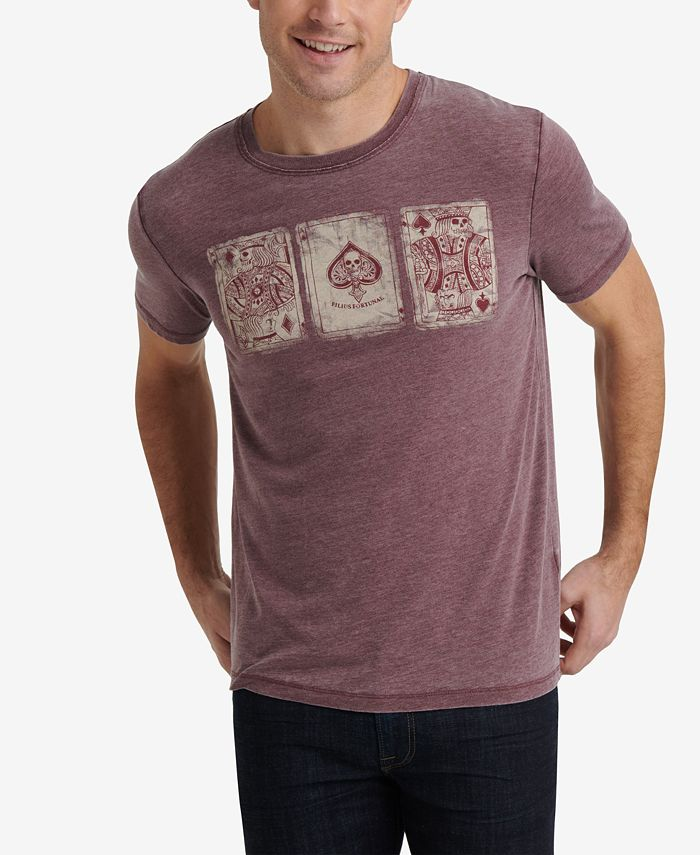 Lucky Brand - Men's Playing Cards Graphic T-Shirt