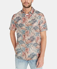Men's Sybeachy Regular-Fit Tropical-Print Shirt
