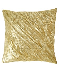 "DKNY Gilded 20"" Square Decorative Pillow"