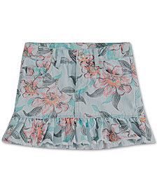 Levi's® Little Girls Eyelet-Trim Denim Scooter Skirt