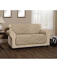 P/Kaufmann Home Innovative Textile Solutions Lemont Scroll Jacquard XL Sofa Furniture Cover Slipcover