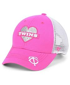 '47 Brand Girls' Minnesota Twins Sweetheart Meshback MVP Cap