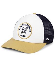 '47 Brand Milwaukee Brewers Swell Trucker MVP Cap
