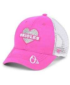 '47 Brand Girls' Baltimore Orioles Sweetheart Meshback MVP Cap
