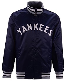 Starter Men's New York Yankees Captain Coop Satin Jacket