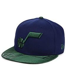 uk availability 3b9f8 1c8da New Era Utah Jazz Pop Viz 9FIFTY Snapback Cap