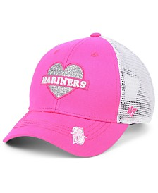 '47 Brand Girls' Seattle Mariners Sweetheart Meshback MVP Cap
