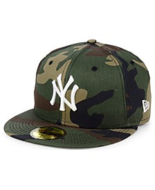 New York Yankees Woodland Basic 59FIFTY Fitted Cap