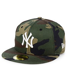 New Era New York Yankees Woodland Basic 59FIFTY Fitted Cap