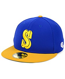 Seattle Mariners Cooperstown Flip 59FIFTY Fitted Cap
