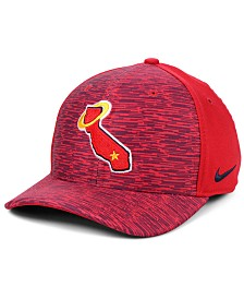 Nike Los Angeles Angels Velocity Swooshflex Stretch Fitted Cap