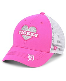 '47 Brand Girls' Detroit Tigers Sweetheart Meshback MVP Cap
