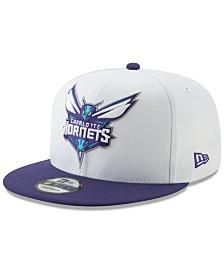 New Era Charlotte Hornets White XLT 9FIFTY Cap