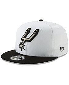 New Era San Antonio Spurs White XLT 9FIFTY Cap