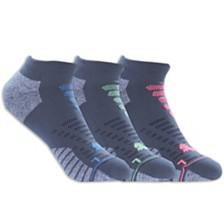 Puma 3-Pack Women's 1/2 Terry Low-Cut Socks
