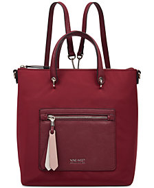 Nine West Zip It Up Convertible Backpack