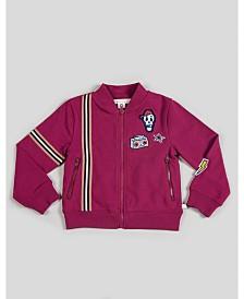 Kinderkind Boy's Zip-Up Jacket with Patchwork
