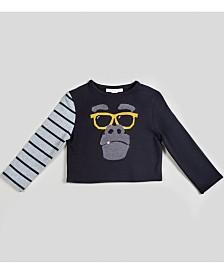 Kinderkind Boy's Striped Kool Long Sleeve Top