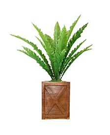 "41"" Real Touch Agave in Fiberstone Planter"