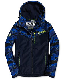 Superdry Men's Hooded Paralex SD-Windtrekker Jacket