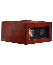 Nathan Direct Jones Double Watch Box with Watch Winder