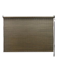 """Bamboo Shade with Crank, 96"""" x 72"""""""