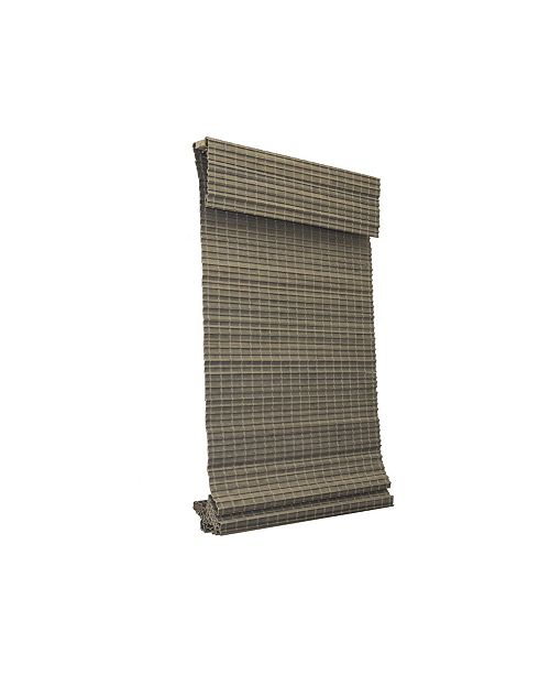 "RADIANCE Cordless Bamboo Privacy Weave Shade, 39"" x 64"""